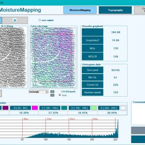 Moisture-mapping software