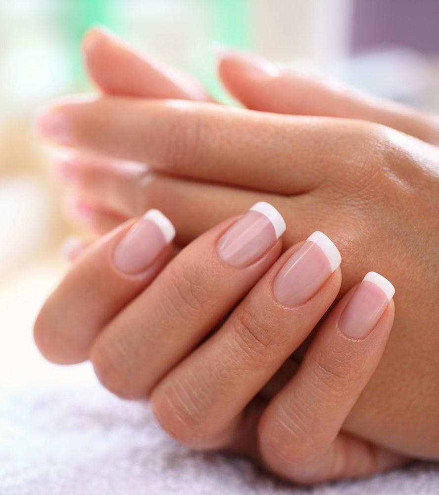Perfect fingernails.